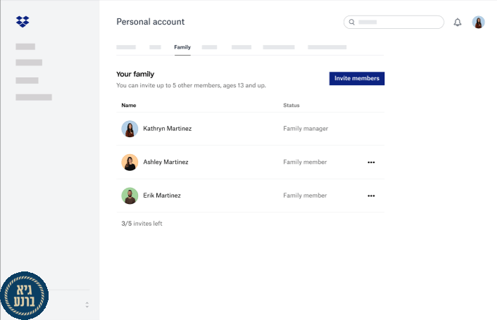 Dropbox Family